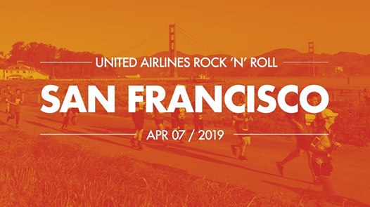 Image for race United Airlines Rock 'n' Roll San Francisco Half Marathon
