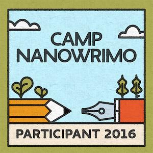 Camp NaNoWriMo Participant 2016