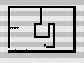 Electon, Screen Shot, ZX81, Steven Reid 1983