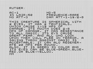 MONSTERMAKER*SLR/1983