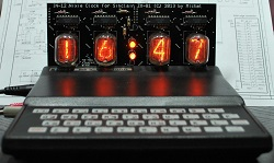 [ZX81 Nixie Clock by Michel]